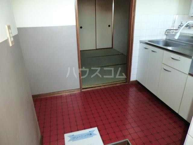 田中マンション 304号室の玄関