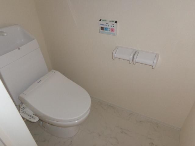Plumeria(プルメリア) 206号室のトイレ