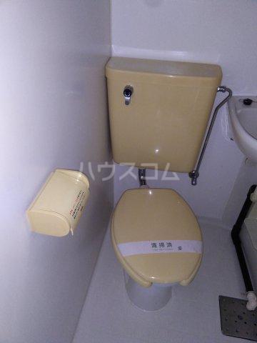 小高ハウス 205号室のトイレ