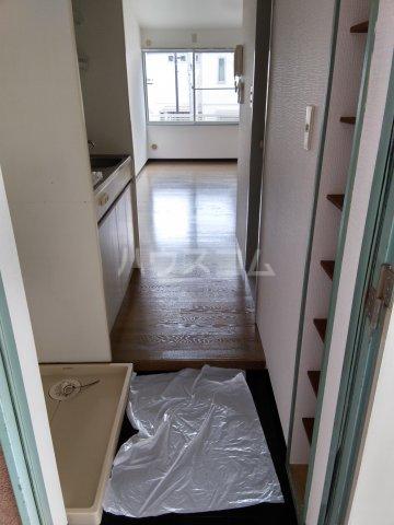 小高ハウス 205号室のバルコニー