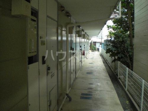 レオパレスパークサイド 207号室の玄関
