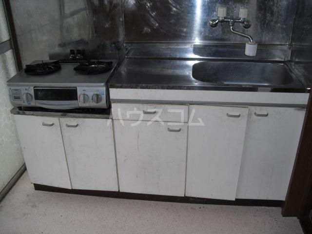 ハイツリバーサイド 201号室のキッチン