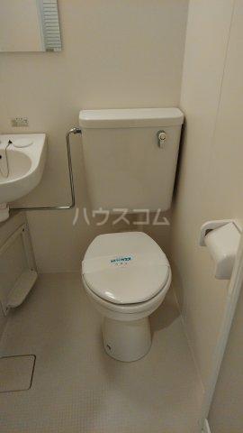 サンピア平塚 203号室のトイレ