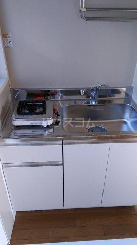 ハイム国府台Ⅱ 203号室のキッチン