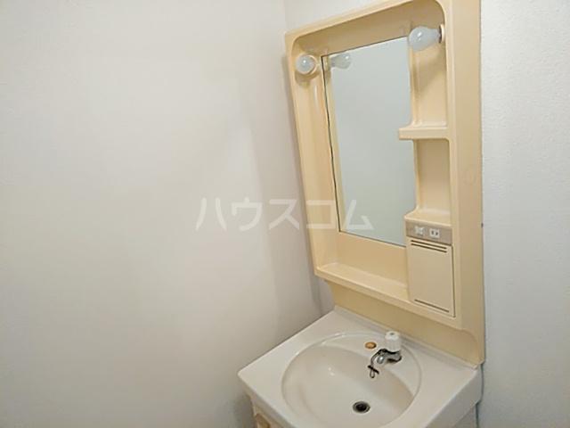 カーサやよいA 202号室の洗面所