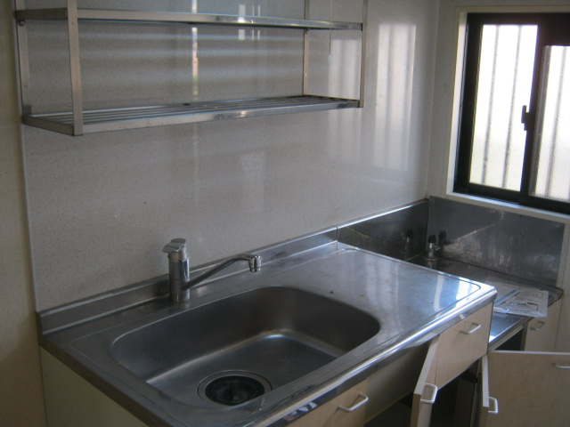 MハイツⅡ 202号室のキッチン