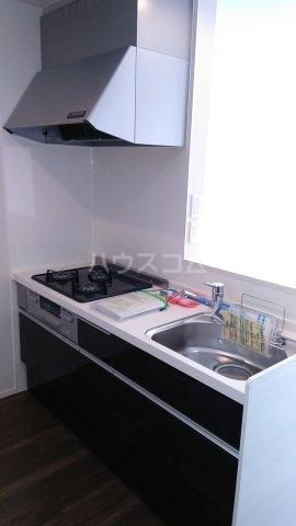 サンライズ市川 201号室のキッチン