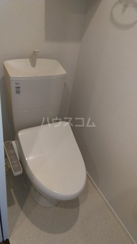 サンライズ市川 201号室のトイレ