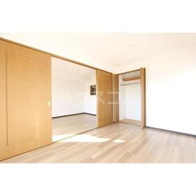 クレベール 301号室のベッドルーム