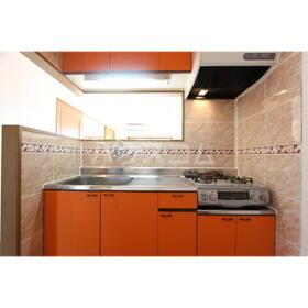 クレベール 301号室のキッチン