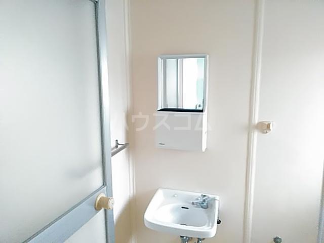 コーポコジマA棟 206号室の洗面所