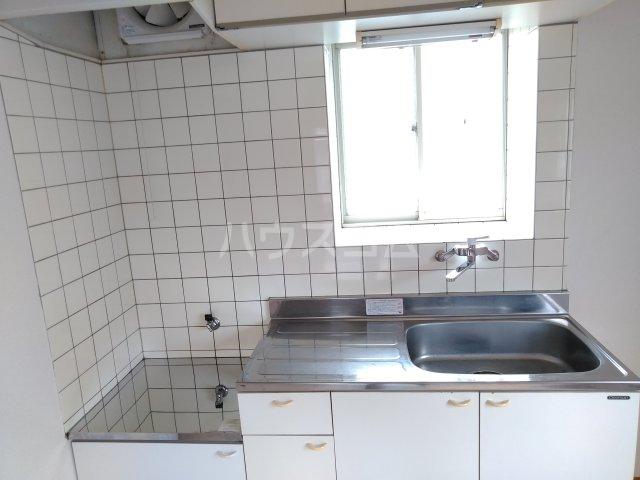 ハイツアドニスB 202号室のキッチン