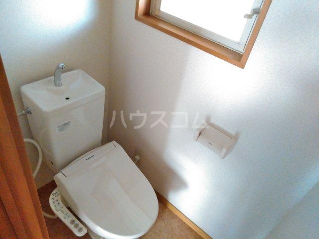 ハイツアドニスB 202号室のトイレ
