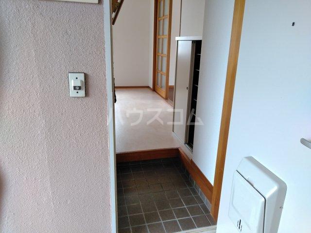 ハイツアドニスB 202号室の玄関