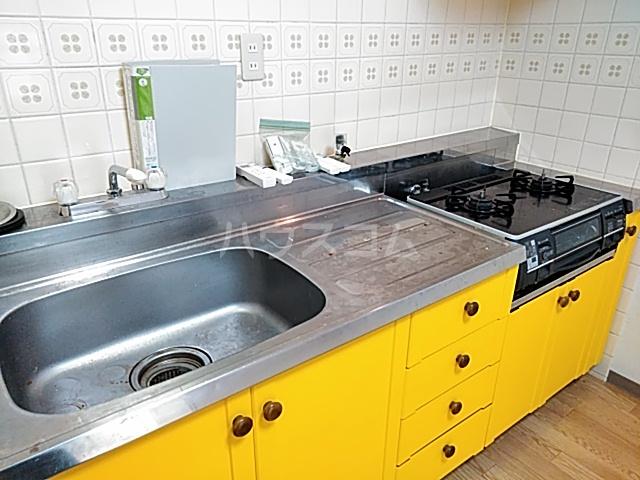 ハイツハーベスト 303号室のキッチン