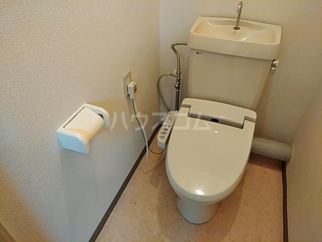 ハイツハーベスト 303号室のトイレ