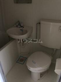パストラル松戸 105号室のトイレ
