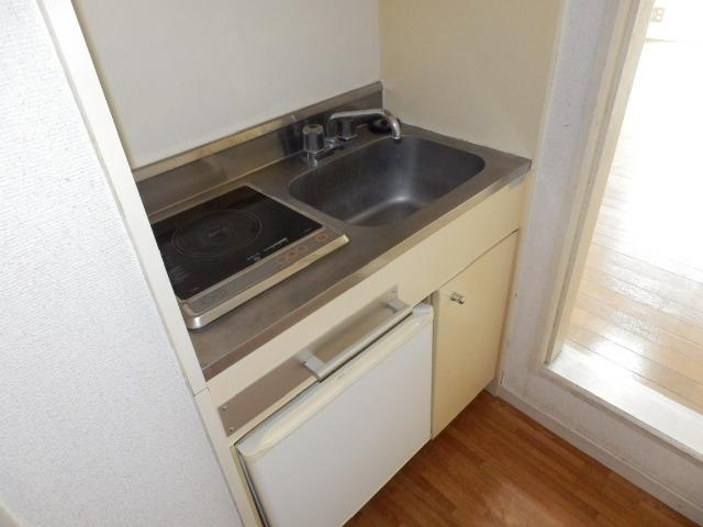 オークパレス 201号室のキッチン