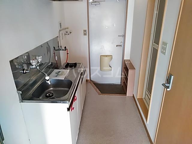 リバーハイツカトウ 201号室のキッチン