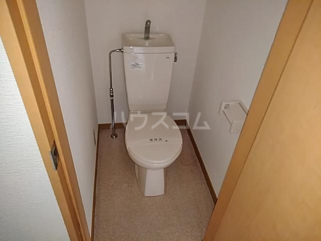 リバーハイツカトウ 201号室のトイレ