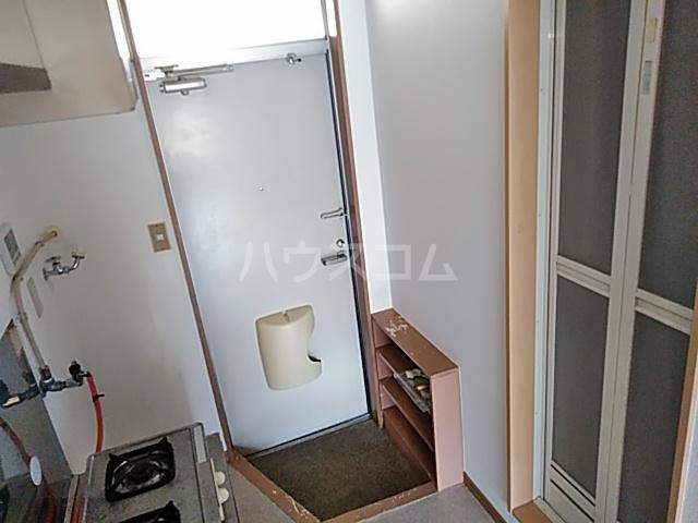 リバーハイツカトウ 201号室の玄関
