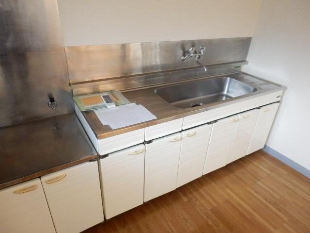 第1メゾンサンシャイン 203号室のキッチン