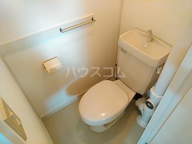 青木ハイツ 505号室のトイレ