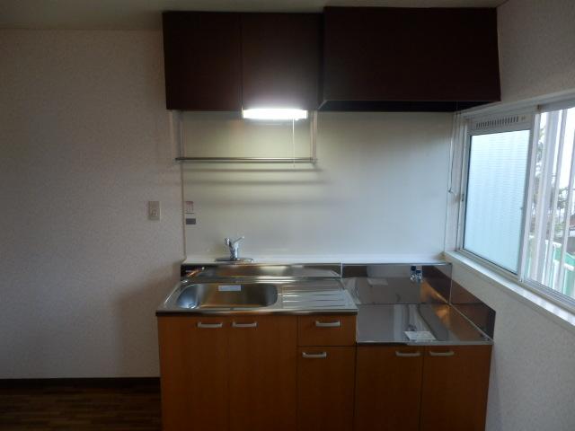 第2ニューリース神崎 205号室のキッチン
