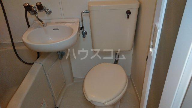 サザンフォレスト本厚木 203号室のトイレ
