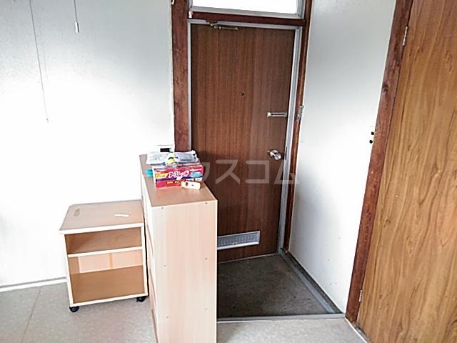 第二徳間荘 2-A号室の玄関
