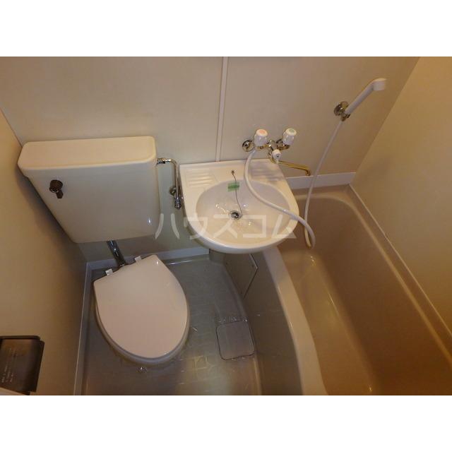 スペースぬるみず 107号室のトイレ