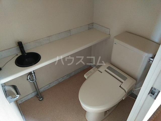 ダイアパレス本厚木 1202号室のトイレ