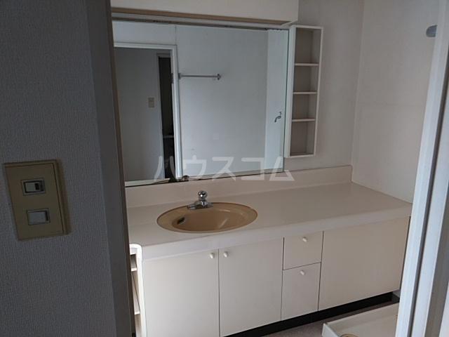 ダイアパレス本厚木 1202号室の洗面所