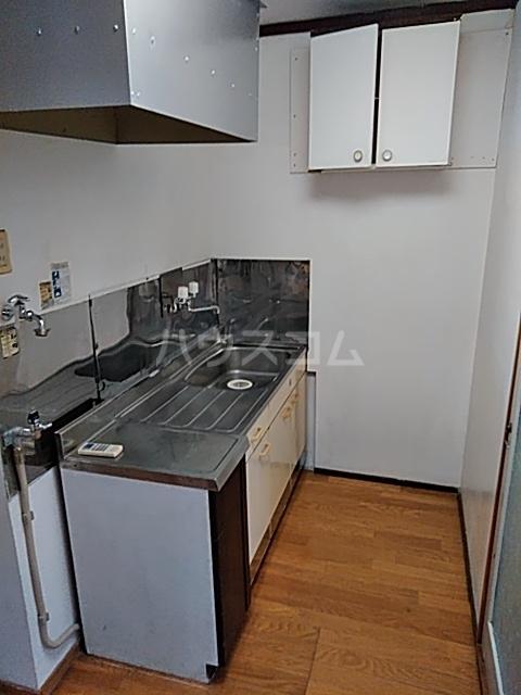 栗橋国分アパートA号棟 A202号室のキッチン