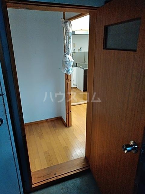 栗橋国分アパートA号棟 A202号室の玄関