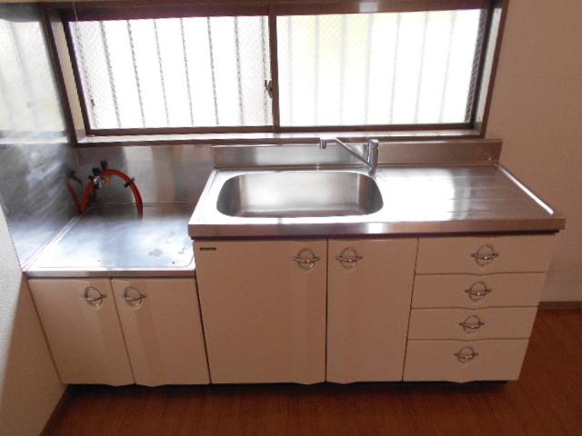 ユーフォリア海老名Ⅲ 201号室のキッチン