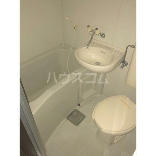 コーポPB B7号室の風呂