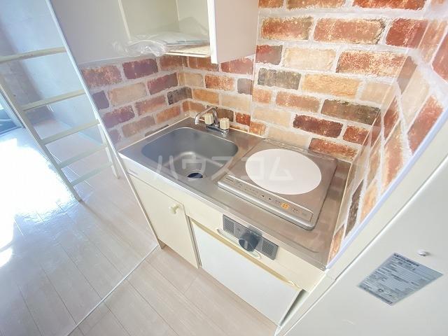 アイビー・ハウス 101号室のキッチン