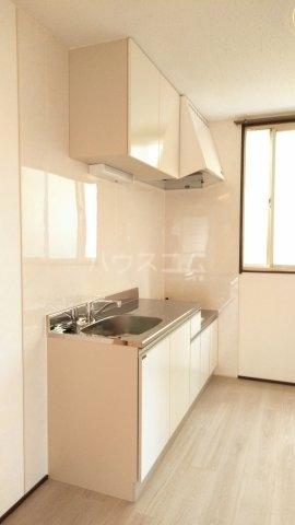 プラザ子の神22 101号室のキッチン