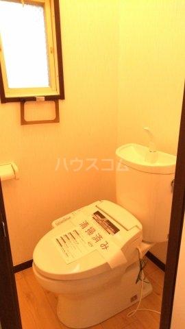 プラザ子の神22 101号室のトイレ