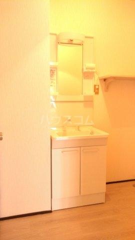 プラザ子の神22 101号室の洗面所