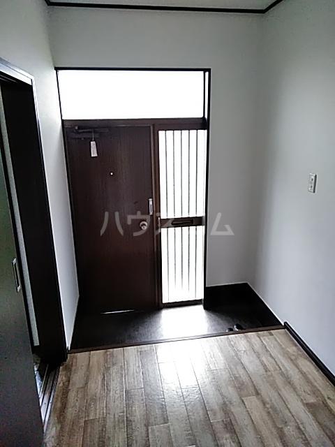 第二湯澤ハイツの玄関