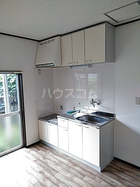 第二湯澤ハイツのキッチン