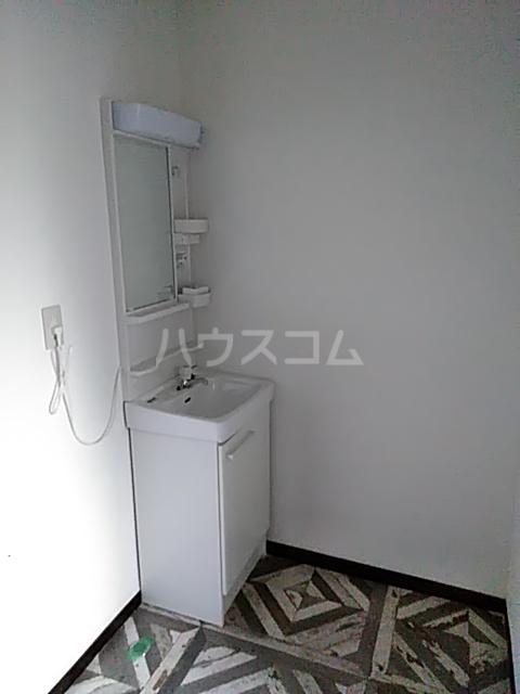 第二湯澤ハイツの洗面所