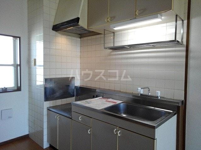 グリーンプラザ 02030号室のキッチン