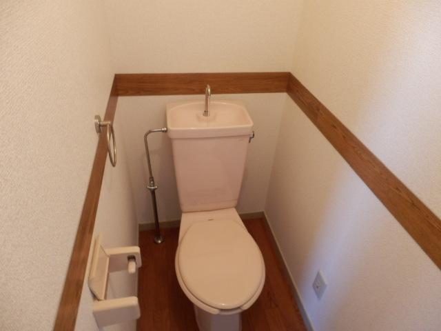 マンションサーパス 302号室のトイレ