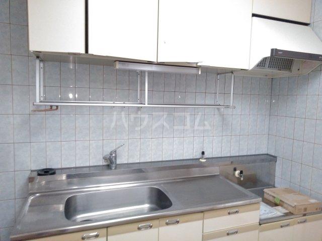 グレースシティB 202号室のキッチン
