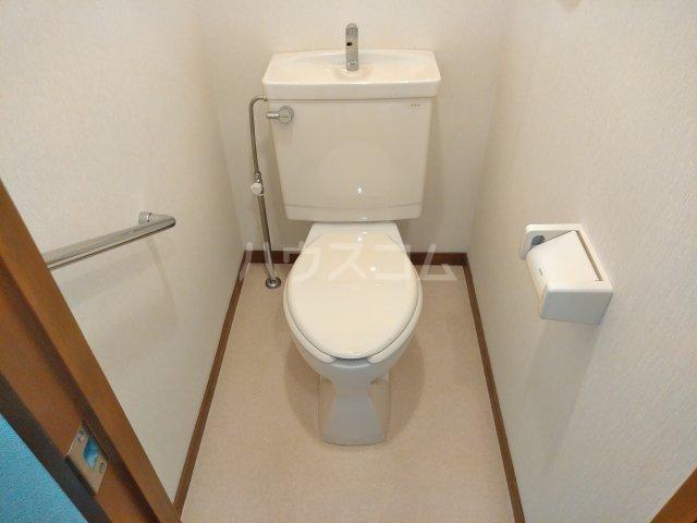 グレースシティB 202号室のトイレ