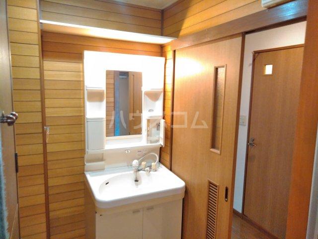 グレースシティB 202号室の洗面所