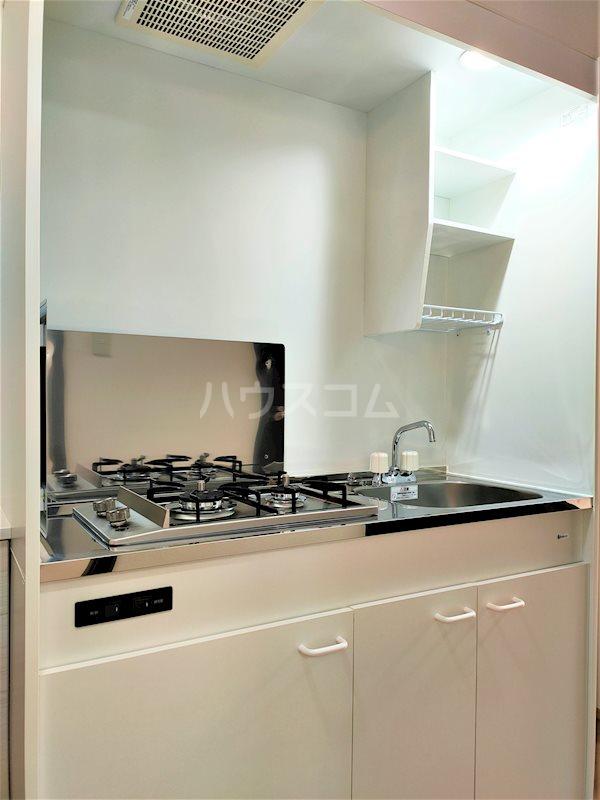 アベニールS 106号室のキッチン